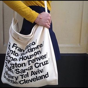 Wanderlust Canvas Messenger Bag | Cross Body Tote